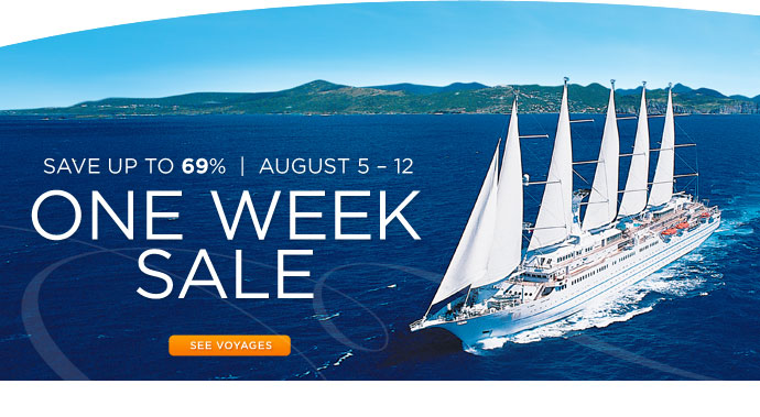 Windstar Sale save up to 69%